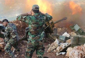 Artiglieria Siriana Aleppo AP