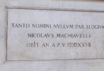 tomba_nicolò_machiavelliTitle