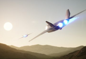 Team Tempest Future Combat Air System concept. Copyright BAE Systems.