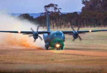 C-27J - Unprepared runway (002)