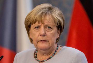 Angela-Merkel-Visits-Prague