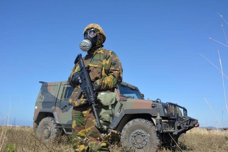 Specializzato NBC in attività di force protection