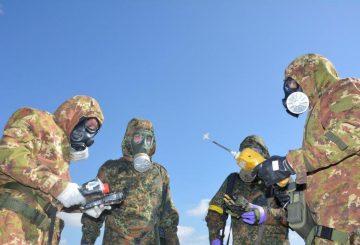 Team congiunto CBRN italo tedesco