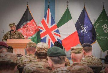 5. Un momento della cerimonia intervento del Generale Austin Scott Miller (002)