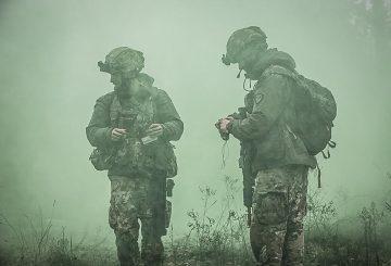 31 il controllo del territorio alla ricerca delle traccie lasciate dalle truppe avversarie