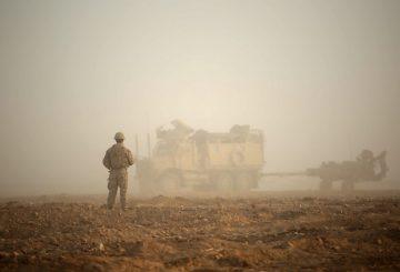 M777 USMC in Siria Foto USMC