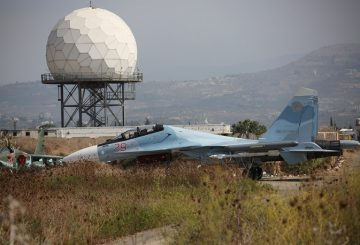 Su-30 fighter aircraft at the Hmeymim airbase TASS