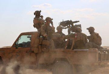 Forze soeciali USA nord Siria AFP