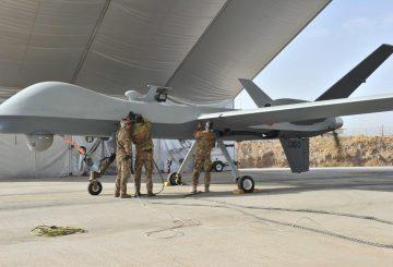 Il Predator a Herat - Afghanistan (3)