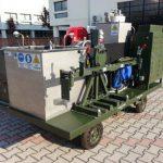 Pulizia a ultrasuoni per le canne di mitragliatrici pesanti e artiglieria