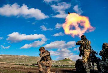 9. tiri con mortaio Thomson 120mm