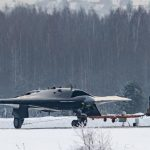 "Primi test a terra per il nuovo UCAV Sukhoi S-70 ""Okhotnik"""