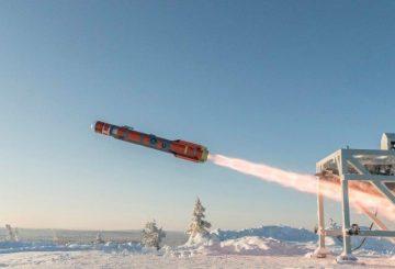 BRIMSTONE 3 - first firing trial - Vidsel Trials range in Sweden (1) © MBDA