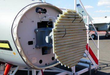 4_Il radar Grifo con antenna convenzionale montato sull'M346 F_A di Leonardo@Luca Peruzzi