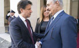 Haftar a Roma rilancia le opzioni italiane nella crisi libica
