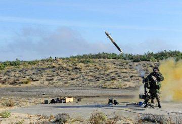 MISTRAL - MANPADS firing - © DGA Essais de missiles Site Landes