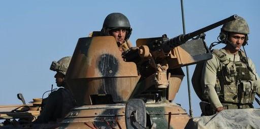 Turchi in Siria Askanews
