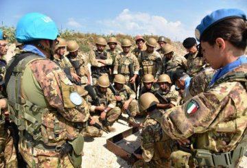 UNIFIL_Caschi_Blu_Italiani addestrano le LAF 1 (002)