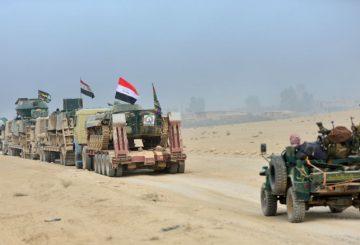 Fronte di Mosul milizia scita Reuters niv 2016