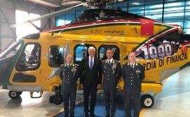 Leonardo consegna il millesimo elicottero AW139