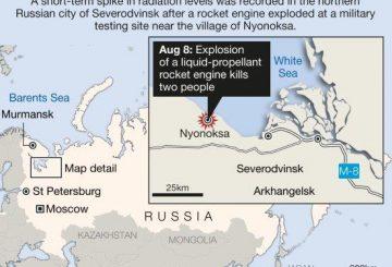 Nyonoksa explosion map