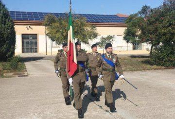 3- Arrivo della Bandiera di Guerra del reggimento logistico Sassari (002)