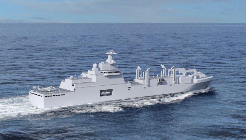 A Fincantieri il contratto per i tronconi delle 4 LSS della Marine ...
