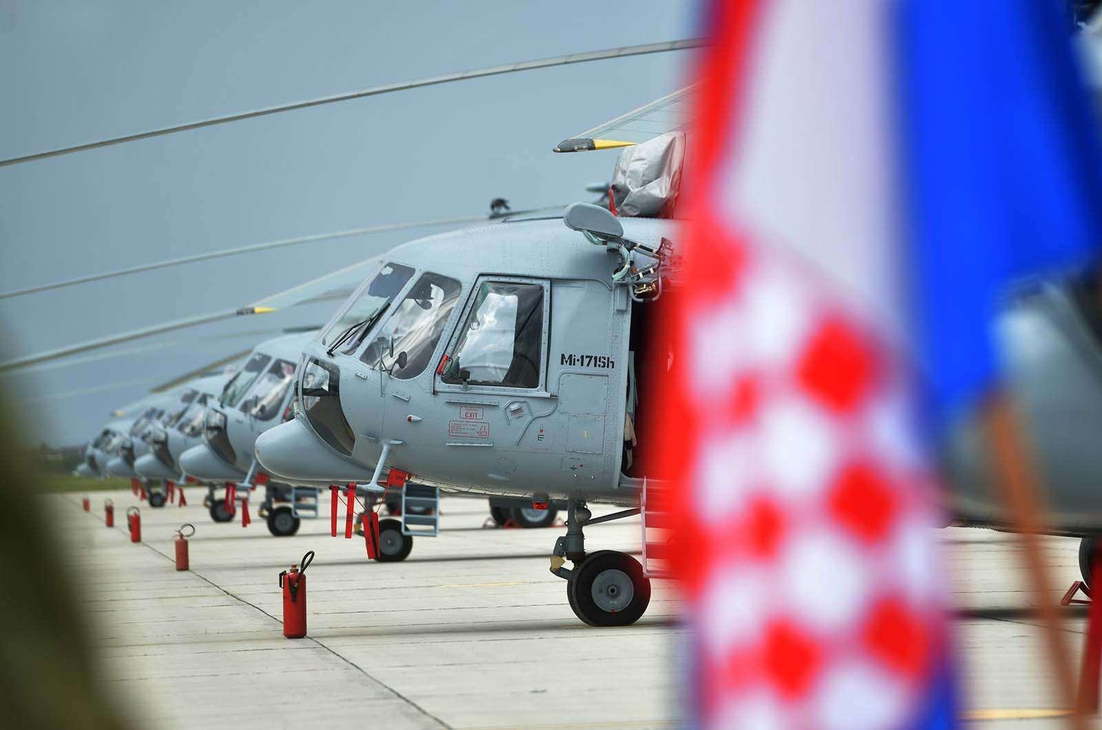 Predstavljen generalni remont helikoptera Mi-171Sh | Foto: MORH / M. Čobanović