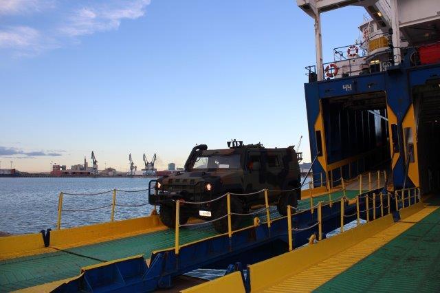 Esercitazione Toro 2019 Porto di Segunto per sbarco mezzi 82 Reggimento Fanteria Torino_1 (002)