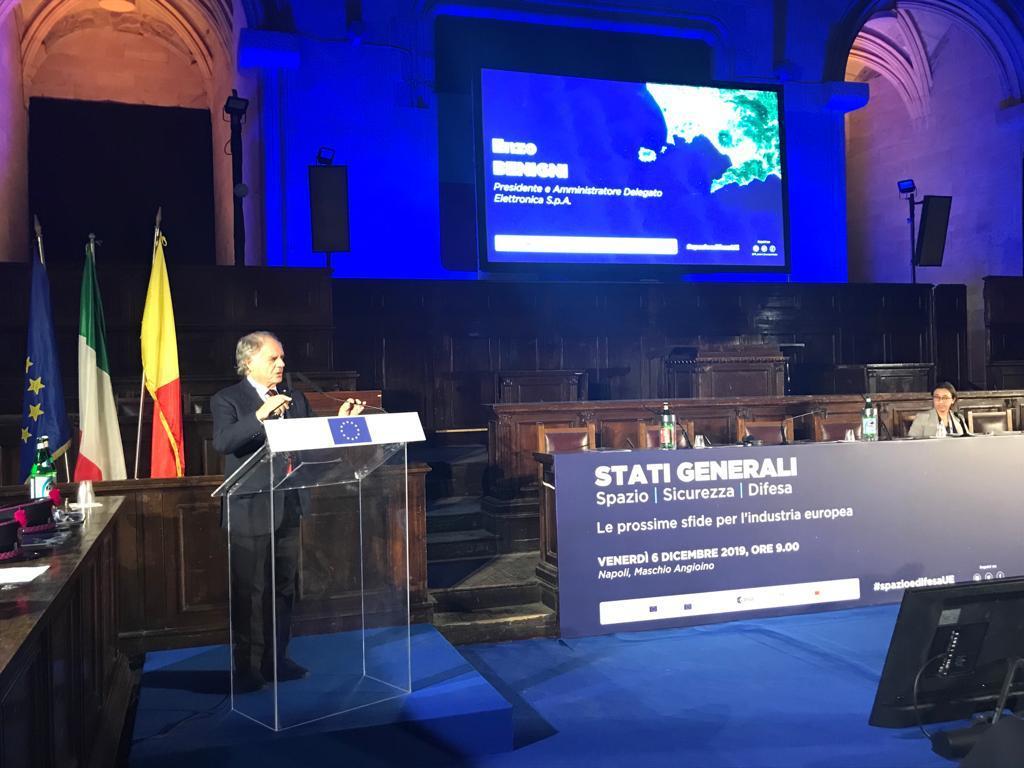 E. Benigni Presidente e CEO Elettronica (002)