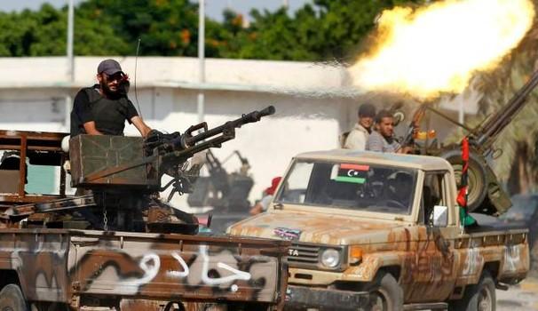Milizie libiche ANSA