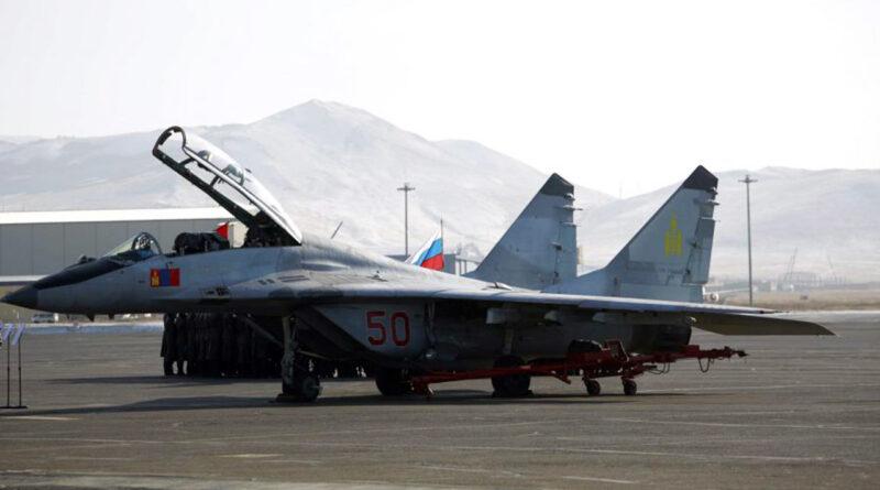 Mongolian Air Force MiG-29UB