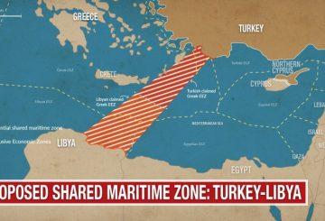 Cartina Italia Grecia Turchia.Oltre L Intesa Turco Libica Il Problema Delle Zee Nel Mediterraneo Analisi Difesa