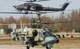 Contratto in arrivo per gli elicotteri da attacco delle forze russe