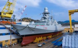 Varata la decima FREMM, la fregata multiruolo Emilio Bianchi