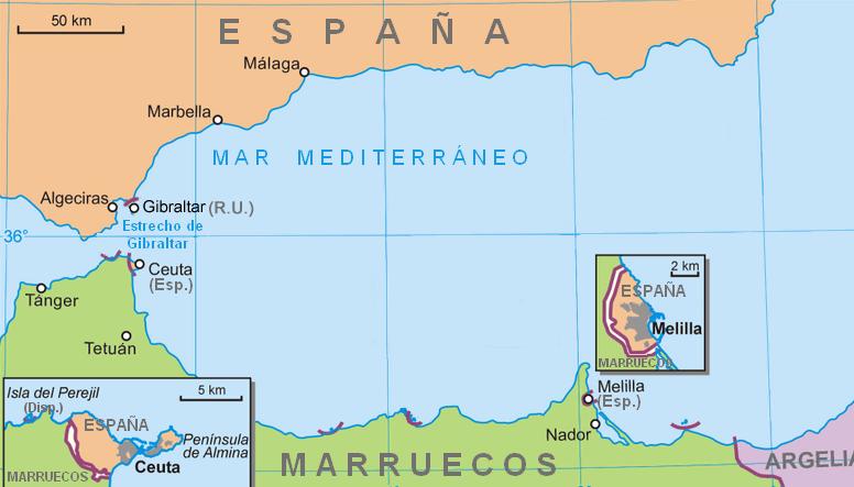 Ceuta-melilla