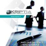 Rischi e sicurezza aziendale: l'approccio di Kriptia