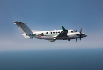 Surveillance-ready Beechcraft King Air (002)