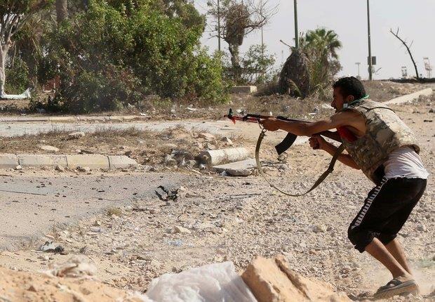 Miliziano Misurata a Sirte AFP