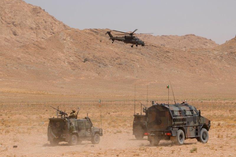 13_Esercitazione con assetti elicotteri a Herat 2