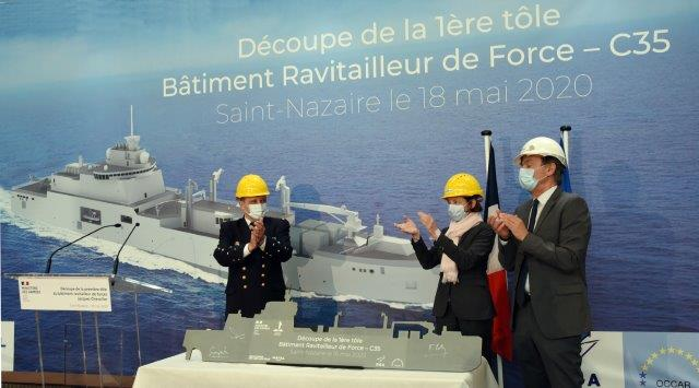 Cerimonia con Ministro CSM e CEO Chantiers Atlantique 18 05 2020 - crédit photo Bernard Biger (002)