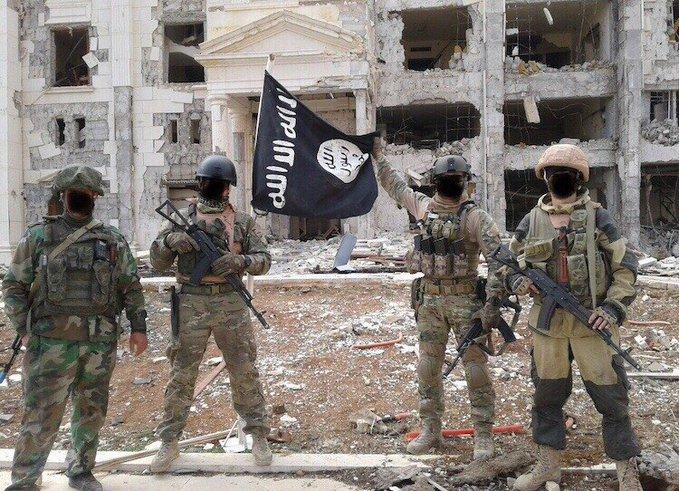 Russi contraxctirs Palmyra 2017
