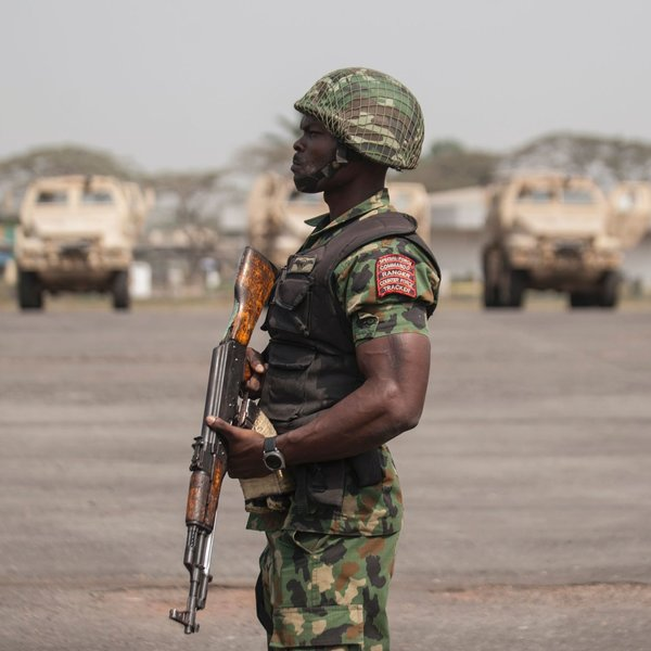 nigeria MILITARY getty images