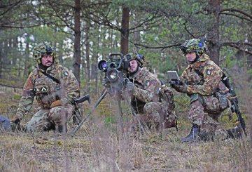 reparto EI s'addestra In Lettonia con armi controcarro_Spike (002)