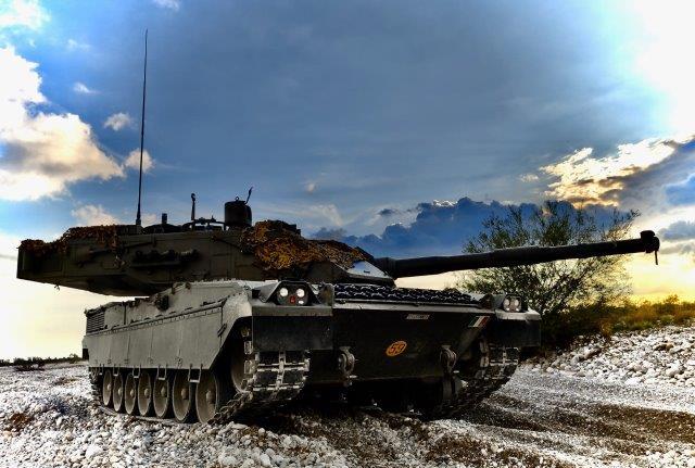 1. Carro Ariete in una fase dell'addestramento (002)