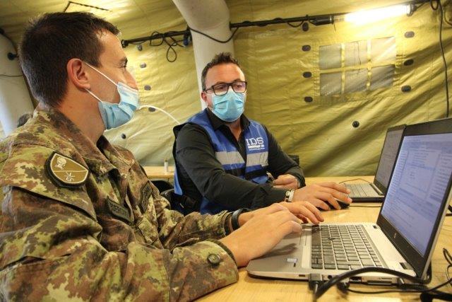 Attività di sperimentazione e sviluppo di nuove tecnologie anti drone con ditte civili
