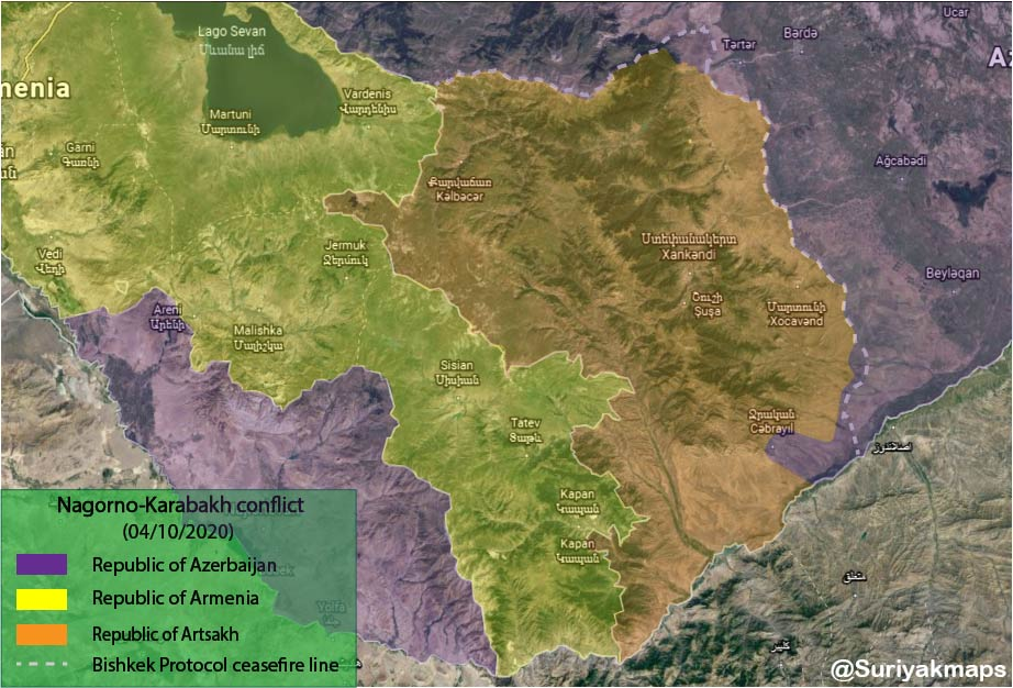 Mappa 5 ottobre