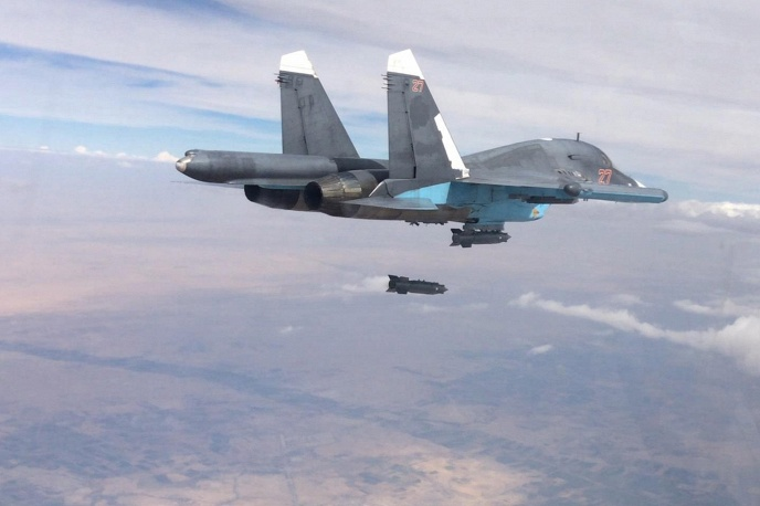 SU 34 inm Siria Min Difesa Russo TASS