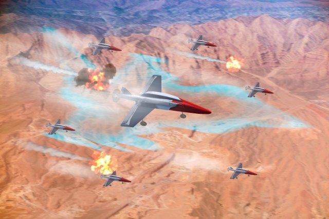Swarming Drones - Leonardo-RAF demonstration (002)