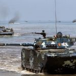 L'ascesa delle forze anfibie cinesi preoccupa Taiwan